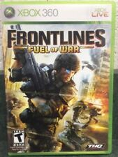 Frontlines: Fuel of War (Microsoft Xbox 360, 2008) GAME COMPLETE