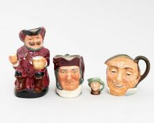 4 Royal Doulton Collector Mugs Toby Character Jugs Falstaff Simon John Arriet