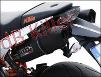 2 SILENCIEUX GPR FURORE ALU NOIR KTM SUPERDUKE 990 / R 2004/12