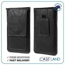 VERTICAL LUXURY POUCH CASE COVER WITH 2 CARD SLOTS FOR VARIOUS PHONES LG ETC