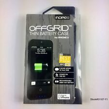 Iphone Case Incipio Offgrid Thin Black Battery Power New *Free Shipping*