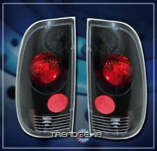 1997-2007 FORD F150 PICKUP STYLESIDE ALTEZZA TAIL LIGHTS LAMP BLACK SVT XLT FX2