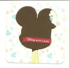 Disney Mickey Mouse Ears Ice Cream Bar Die Cut Gift Card No $ Value Collectible