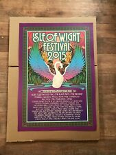 More details for isle of wight concert official poster 2015  blur fleetwood mac the prodigy