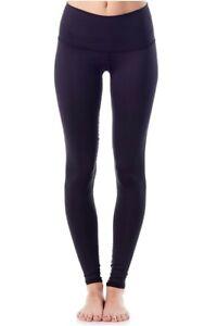 Teeki Solid Black Yoga Pants Hot Pant Leggings S Pilates Fitness Made USA