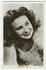 c 1940 Vintage Film Movie Star ROSEMARY LANE antique British photo postcard