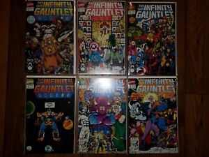 MARVEL COMICS: INFINITY GAUNTLET #1-6 (1991)