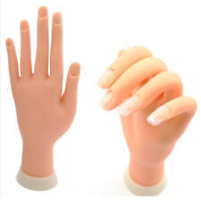 Adjustable Practice Fake Finger Model For Hand Manicure Nail Art Training Tool