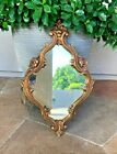 """22"""" Antique Vintage Ornate Wall Mirror French Shabby Chic Victorian Decorative"""