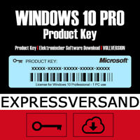 🔑 MS Win 10 PRO Key | Windows 10 Professional Product Key Aktivierungscode