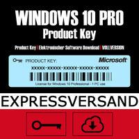 🔑 MS Win 10 PRO Key | Windows 10 Professional Product Key Aktivierungscode