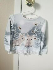 Winter Bunny Sweater Toddler Size 2-4Y