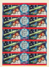 Russia - 1978 - Cosmonauts Space Set of 2 w/ Label #4663 - # 4664 Mint Sheet VF