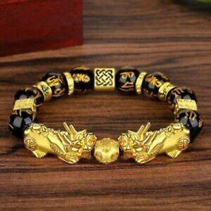 丨 丨 Feng Shui Pixiu Good Luck Bracelets for Men Women Lucky Wealth Money Jewelry