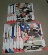 2021 Score Cleveland Browns Team set, Baker Mayfield 15 Cards 3 RC