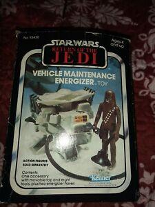 Star Wars ROTJ Kenner Vehicle Maintenance Energizer w box & instructions