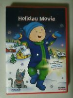 Caillou's Holiday Movie DVD Christmas Vive Les Fetes! English & French Francais