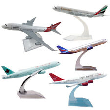 UK 747 Metal Diecast Plane Model Aircraft Boeing Airlines Aeroplane Desktop Toy