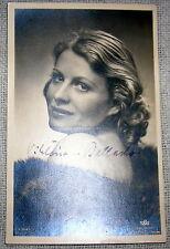 Vintage Signed Movie Actress Postcard - Viktoria Ballasko