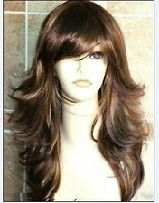 ZWJF74  sexy Fashion Long brown straight Women's Wig wigs for women