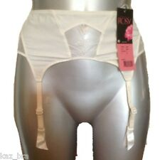 New Rosy Ivory Suspender Belt UK 8 - 10 USA Small, Eur 36/38 It 1/2 bridal Bride