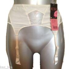 New Rosy Ivory Suspender Belt UK 8 - 10 USA Small, Eur 36/38 It 1/2 bridal Bride