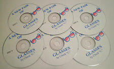 CHUCK C Chamberlain NEW PAIR OF GLASSES 6 Cds Alcoholics Anonymous FREE SHIPPING