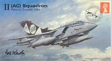AV600 2007 escadron 2 tornado officiel 95th ann raf avion cover signé artiste