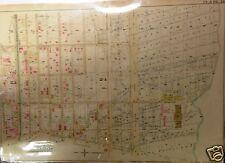 1898 CROWN HEIGHTS, BROOKLYN, NEW YORK HOPKINS ATLAS MAP, 22X30