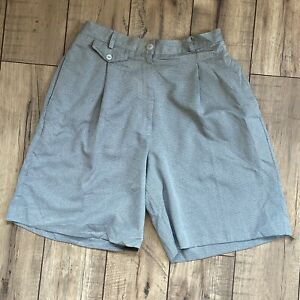 Vintage Bette Court Sig Collection Women's High Waist Mom Pleated Shorts 27W