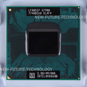 Intel Core 2 Extreme X7900 (LF80537GG0724M)SLAF4 SLA33 CPU 800/2.8 GHz 100% Work