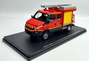 Truck Tank Rural Light Firefighters Iveco Daily 70-170 Ccrl 1/43 Limited Series