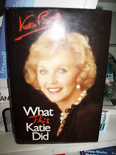 Hardback - WHAT THIS KATIE DID by Katie Boyle - biography - an excellent read 5*