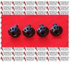 DUCATI PANIGALE BLACK TITANIUM REAR HUGGER BOLTS (4 PCS) 899 1199 1299