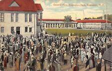 Rochester New York~Everybody @ Exposition Park~Restaurant~Postcard 1913