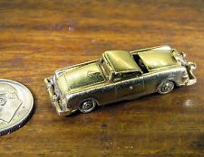 Vintage 14k gold ANTIQUE 1957 FORD THUNDERBIRD '57 CONVERTIBLE CAR MOVABLE charm