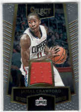 2016-17 PANINI SELECT JAMAL CRAWFORD  32 SWATCHES JERSEY LOS ANGELES  CLIPPERS 777574a1c