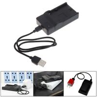 USB Battery Charger For Sony NP-F550 F570 F770 F960 F970 FM50 F330 F930 Camera Q