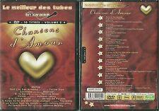 DVD - KARAOKE CHANSONS D' AMOUR / CELINE DION JOHNNY NOLWENN LEROY NEUF EMBALLE