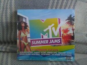MTV Summer Jams - 3xCds (2018) Various Artists - New - Free uk postage