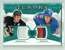 11-12 UD Artifacts Tundra Tandems  Jordan Staal--Marc Staal  1/50  Dual Patches