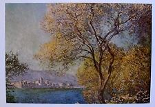 "Claude MONET ""ANTIBES"" Art Lithograph in Mint Condition!"