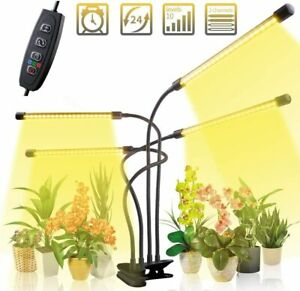 40w LED Pflanzenlampe 80 LEDs Pflanzenlicht Vollspektrum Pflanzenleuchte