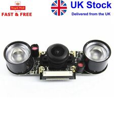 More details for night vision 130° camera module board compatible for raspberry pi
