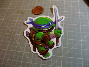 TOON LEONARDO Sticker / Decal Skateboard Stickers Actual Pattern NEW GLOSSY