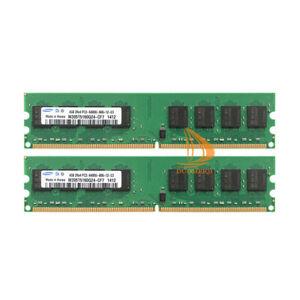 Samsung 8GB 2x 4GB PC2-6400 DDR2 800Mhz High Density Memory For AMD CPU Chipset