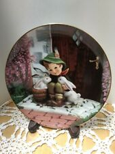 """M J Hummel """"Playmates"""" from Gentle Friends Collection Plate"""