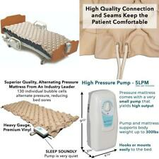 Meridian Alternating Pressure Mattress w/ Electric Pump Bed Sore Prevention Pad