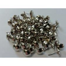 60 Stück Polsternägel Ziernägel 11 mm vernickelt