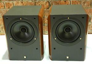 BRAND NEW & BOXED! Pair Of KEF RDM ONE Vintage Bi-Wire Bookshelf Loudspeakers